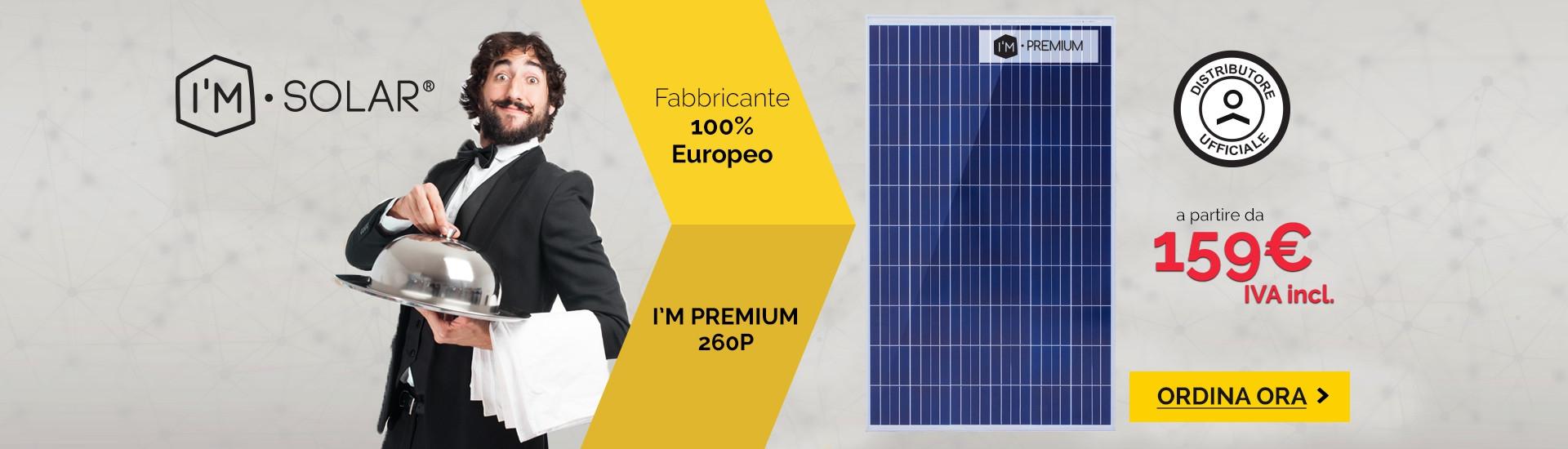 Pannelli solari I'M PREMIUM by I'M SOLAR®