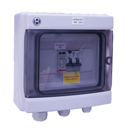 AC Box 3-4 kW monofase 230V 16A