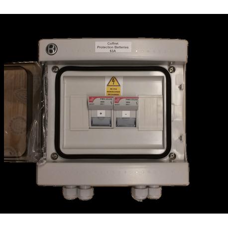 Quadro di protezione per batterie 63A