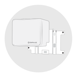 Supporto a muro per la batteria ENPHASE