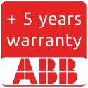 Estensione della garanzia ABB a 10 anni per TRIO-5.8-TL