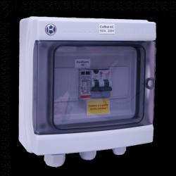 Quadro AC monofase 230V 50A 7-10kW