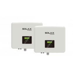 Pack 2x Inverter Hybride SolaX X3-15.0-D G4