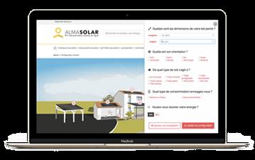 Configuratore per i vostri pannelli solari