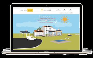 Fare il consumo di energia solare con il solare alma casa