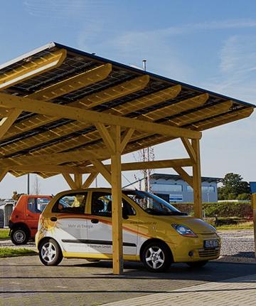 pannelli solari sul garage al miglior prezzo